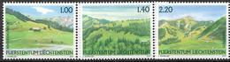 2007 Liechtenstein  Mi. 1451-3**MNH Liechtensteiner Weidealpen - Ungebraucht