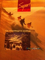 Revue Publicitaire Sur Superdevoluy De 1990 - Publicité