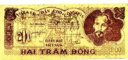 VIET NAM   - BILLET DE 200 - HAI TRAM DONG   1950 - Vietnam