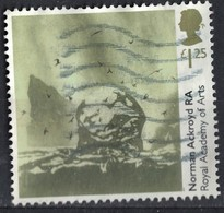 Royaume Uni 2018 Oblitéré Used Sainte Kilda The Great Sea Stacs Par Norman Ackroyd SU - Oblitérés