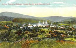 VEDERE GENERELA A MÂNASTIRII NEAMT DIN SPRE IAZUL PARINTELUI DANIEL / NEAMT MONASTERY ~ 1910 - '915 (aa557) - Romania
