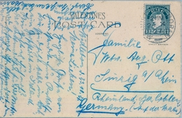 1927 , IRLANDA , TARJETA POSTAL CIRCULADA , GLENGARRIFF FROM GARNISH ISLAND . CORK - 1922-37 Stato Libero D'Irlanda