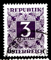AUTRICHE 1949 Mi.nr.: Tax Nr. 256  Ziffern  Oblitéré-Used-Gestempeld - Postage Due