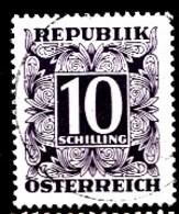 AUTRICHE 1949 Mi.nr.: Tax Nr. 259  Ziffern  Oblitéré-Used-Gestempeld - Postage Due