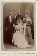 Grand CDV-(CAB) Mariage D'un Officier Du 89e R- Contre-épaulette- Photo Cognet à Paris Vers 1890 - Guerre, Militaire
