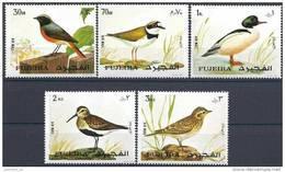 1972 FUJEIRA 1326-30** Série Complète Oiseaux - Fujeira
