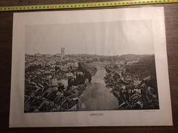 DOCUMENT SUISSE FRIBOURG MORAT ESTAVAYER PORTE D AARBERG - Vieux Papiers