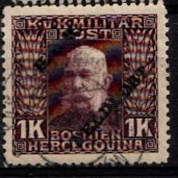 AUTRICHE - Ungarische Feldpost 1915 Mi.nr.: 17 Kaiser Franz Joseph I  Oblitéré-Used-Gestempeld - Autriche