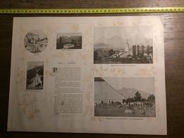 DOCUMENT SUISSE GRUYERE BROC CHARMEY BELLEGARDE JAUN VALSAINTE LAC NOIRE - Vieux Papiers