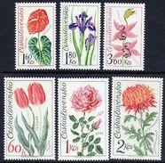 CZECHOSLOVAKIA 1973 Floral Exhibition Set MNH / **.  Michel 2147-52 - Czechoslovakia