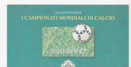 SOCCER  - SAN MARINO - 1998 - FRANCE WORLD CUP BOOKLET COMPLETE MINT, SG CAT  £22 - World Cup