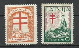 LETTLAND Latvia 1930 Michel 162 - 163 * - Latvia