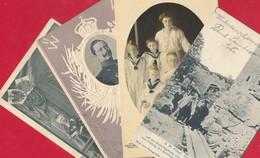4 AK - Kaiser, Kaiserin, ... ~ 1901 / 1902 - Royal Families