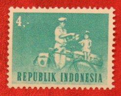 4 R Transport Bike Bicycle (Mi 438 YT 382) 1964 Indonesie / Indonesien / Indonesia POSTFRIS / MNH ** - Indonesia