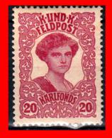 AUSTRIA (ÖSTERREICH) SELLOS SERIE AÑO 1918 EMPRESS ZITA - 1850-1918 Imperium