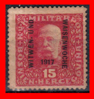 AUSTRIA (ÖSTERREICH) SELLOS SERIE AÑO 1915-17 EMPEROR FRANZ JOSET - 1850-1918 Imperium
