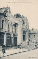 ANZIN (NORD) 19 EGLISE BOMBARDEE PAR LES ALLEMANDS - Other Municipalities