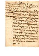 Plaidoirie 6 Avril 1790diocése D'agde Commune De Méze - Historical Documents