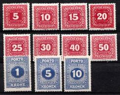AUTRICHE 1916  Mi.nr.: Porto Tax  Neuf Avec Charniere - Taxe