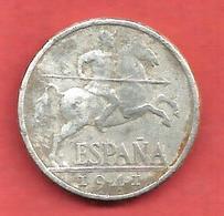 10 Centimos , ESPAGNE , Aluminium , 1941 , N° KM # 766 , N° Y111 - [ 4] 1939-1947 : Gouv. Nationaliste