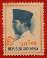 30 Sen President Sukarno (Mi 508 YT -) 1966 Indonesie / Indonesien / Indonesia POSTFRIS / MNH ** - Indonesia