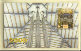 TRV-BL1**, Vignettes Chemin De Fer, Bloc + Carte Téléphone+ Carte Postale Dans Enveloppe Spéciale An 2000 - 1952-....