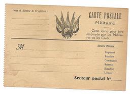 Correspondance Militaire Carte Postale Militaire Non Utilisée .G - Guerre 1914-18
