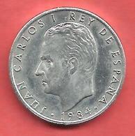 2 Pesetas , ESPAGNE , Aluminium , 1984 , N° KM # 822 , N° Y141 - [ 5] 1949-… : Royaume