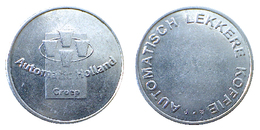 02068 GETTONE TOKEN JETON NETHERLANDS DISPENSER MACHINE COFFEE AUTOMATIC HOLLAND GROUP - Unclassified