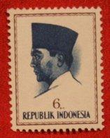 6 Rupia President Sukarno (Mi 425 YT - ) 1964 Indonesie / Indonesien / Indonesia POSTFRIS / MNH ** - Indonesia