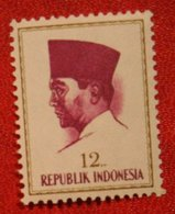 12 Rupia President Sukarno (Mi 426 YT - ) 1964 Indonesie / Indonesien / Indonesia POSTFRIS / MNH ** - Indonesia