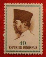 40 Rupia President Sukarno (Mi 429 YT - ) 1964 Indonesie / Indonesien / Indonesia POSTFRIS / MNH ** - Indonesia