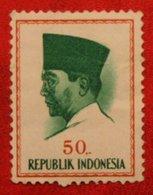 50 Rupia President Sukarno (Mi 430 YT - ) 1964 Indonesie / Indonesien / Indonesia POSTFRIS / MNH ** - Indonesia