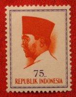 75 Rupia President Sukarno (Mi 431 YT - ) 1964 Indonesie / Indonesien / Indonesia POSTFRIS / MNH ** - Indonesia
