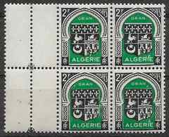 1947 ALGERIE 259** Blason D'Oran, Bloc De 4 - Algérie (1924-1962)