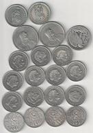 Lot Pièces Nederland - Suisse - USA Dont 5 Pièces En Argent - Monnaies & Billets