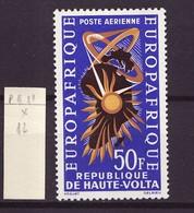 Haute Volta - Obervolta - Upper Volta Poste Aérienne 1963 Y&T N°PA11 - Michel N°141 * - 50f Europafrique - Haute-Volta (1958-1984)