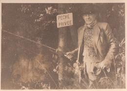 Foto Photo (7 X 10 Cm) Visser Pecheur Peche Privée - Sports