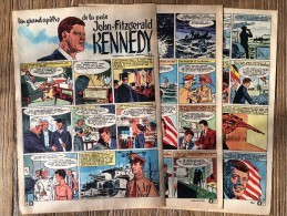 HISTOIRE COMPLETE DUVAL FUNCKEN JOHN FITZGERALD KENNEDY - Old Paper