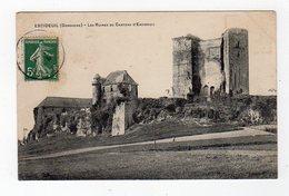 Fev19   2484102    Excideuil Les Ruines Du Chateau - France