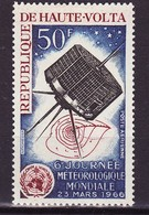 Haute Volta - Obervolta - Upper Volta Poste Aérienne 1966 Y&T N°PA28 - Michel N°181  * - 50f Journée De La Météorologie - Haute-Volta (1958-1984)