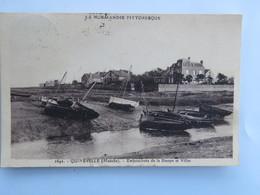 C.P.A. : 50 QUINEVILLE : Embouchure De La Sinope Et Villas, Timbre En 1932 - France