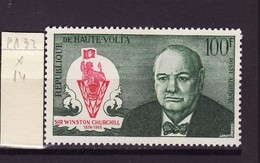 Haute Volta - Obervolta - Upper Volta Poste Aérienne 1966 Y&T N°PA32 - Michel N°206  * - 100f W Churchill - Haute-Volta (1958-1984)