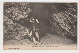 SUR LES BORDS DE L'OCEAN  Lot De 2 Cartes +sortant Du Bain - France