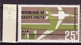 Haute Volta - Obervolta - Upper Volta Poste Aérienne 1966 Y&T N°PA31 - Michel N°198  * - 25f Air Afrique - Haute-Volta (1958-1984)