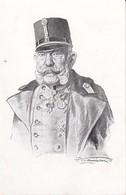 AK Kaiser Franz Josef - Wohlfahrtskarte Zur Unterstützugn Erblindeter Krieger Des Landheeres Und Der Flotte (39605) - Familles Royales