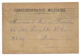Correspondance Militaire 27.4.1915    2 Scans   . .G - Guerre 1914-18