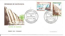 HAUTE VOLTA  Enveloppe 1er Jour   1954 1965 - Haute-Volta (1958-1984)