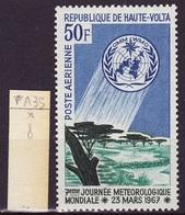 Haute Volta - Obervolta - Upper Volta Poste Aérienne 1967 Y&T N°PA35 - Michel N°213  * - 50f Journée De La Météorologie - Haute-Volta (1958-1984)