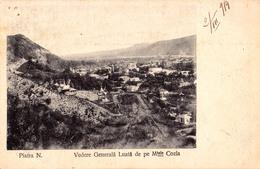 PIATRA NEAMT : VEDERE GENERALA LUATA DE PE MUNTELE COZLA / GENERAL VIEW / VUE GÉNÉRALE ~ 1905 - '910 (aa562) - Romania
